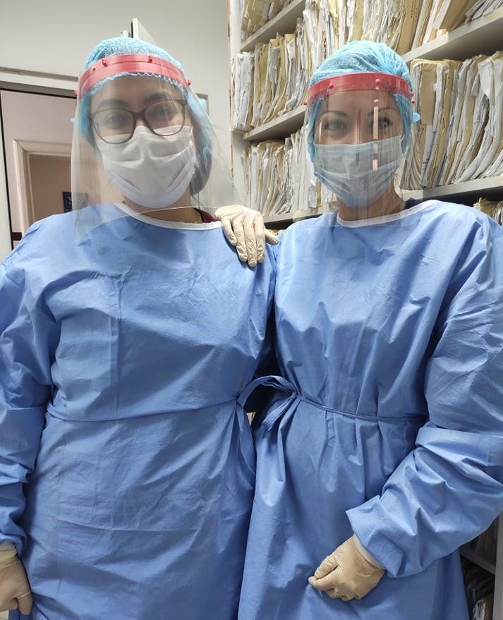 Голем дел од клиниките обезбедени со заштитни маски испечатени на 3D принтери
