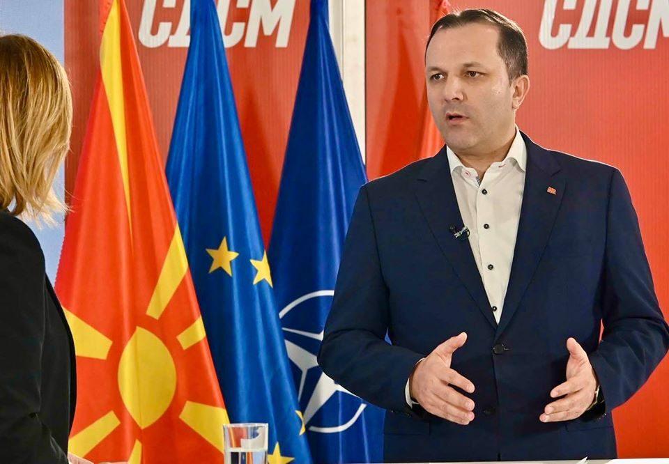 Ферати, командир од ЕБР му порача на Спасовски: Само ќутек премиере!