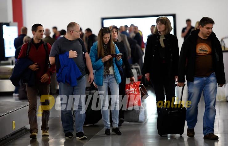 Патниците да пристигнат три часа пред летот, на влез ќе им се мери температура: Од први јули се отвораат аеродромите