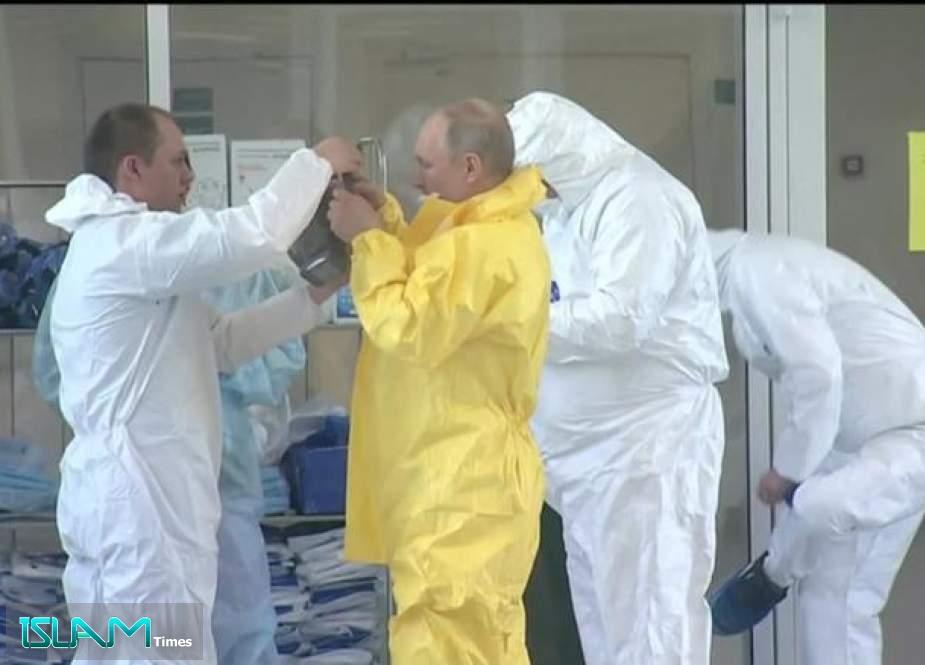Тестот, засега, вели дека Путин е негативен на Ковид-19