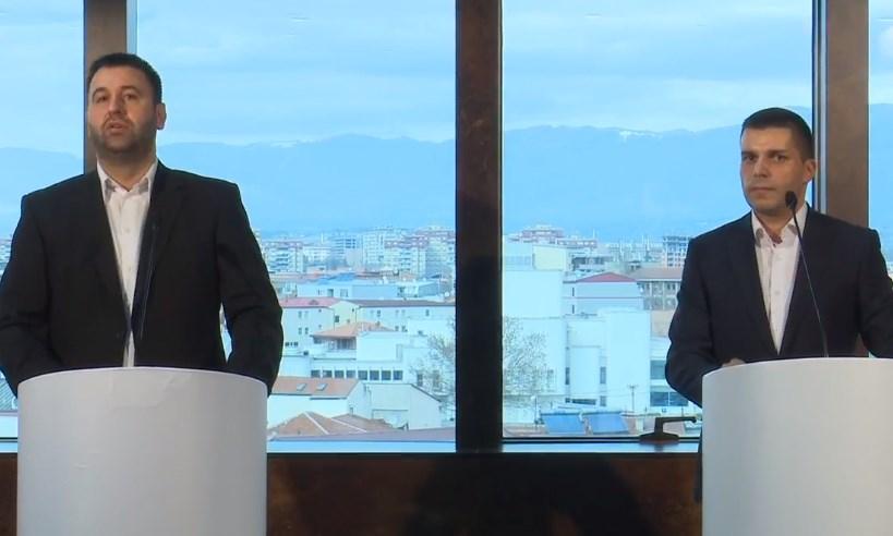 """Прва двојазична прес на СДСМ и Беса: Најмногу мандати очекуваме во """"шестката"""""""