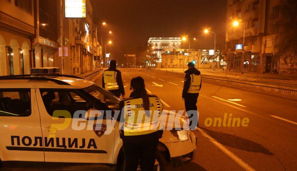 Обвинителството бара казни од 2.000 евра за тие што не седат дома кога е полицикиот час