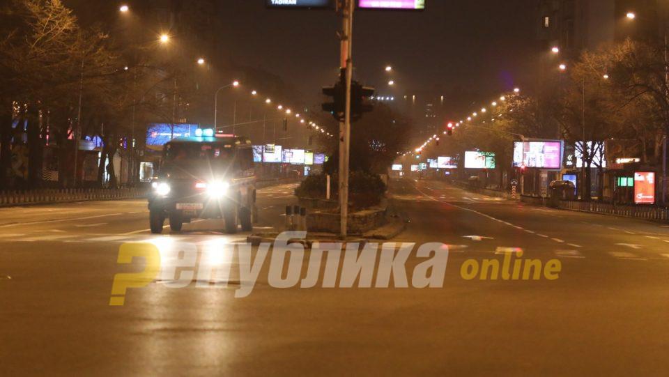 Десет скопјани казнети по 2.000 евра за прекршување на полициски час