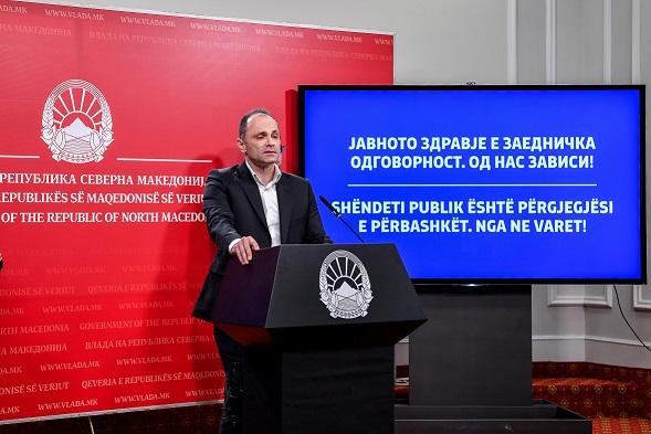 Филипче: Сега е исклучително важно да се почитуваат сите мерки и да се подготвуваме за враќање во нормала