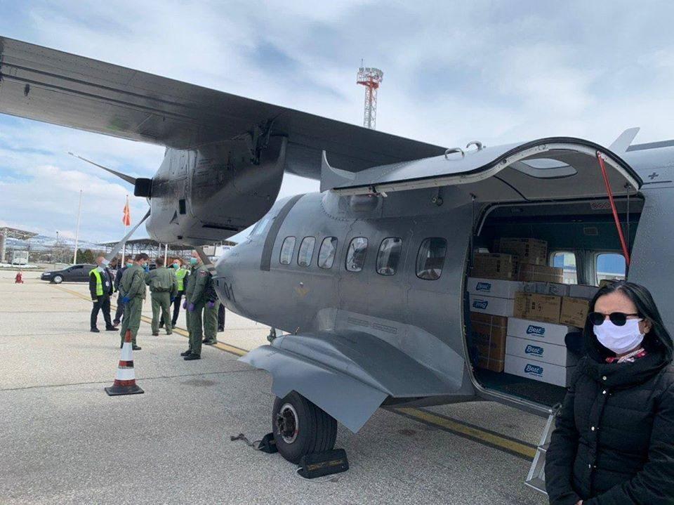 В понеделник пристигнува помош од уште една пријателска земја на Македонија