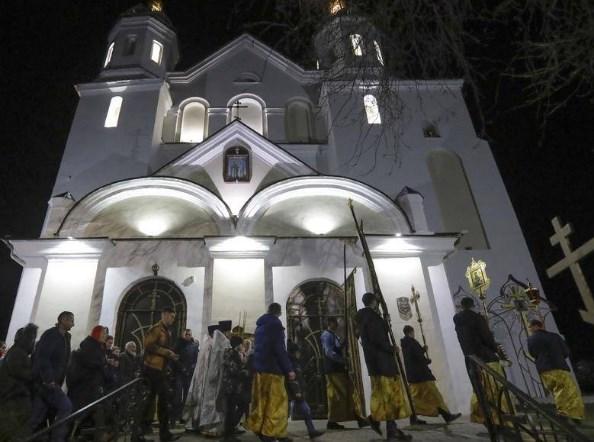 Во централниот храм во Москва за Божик се влегуваше само со покана