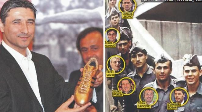 Пукање и фудбал: Панчев, Бобан и Савичевиќ како војници во ЈНА