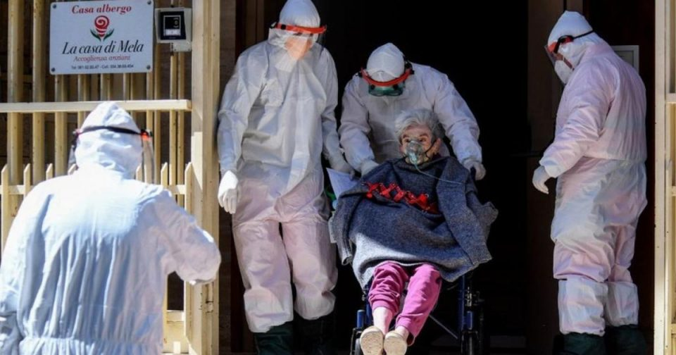 Околу половина од смртните случаи во Европа се во домови за стари лица