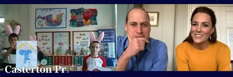 Принцот Вилијам и Кејт Мидлтон ги изненадија децата на болничарите