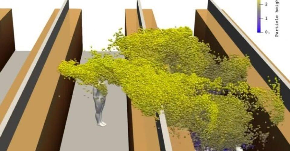 3Д анимација: Фински научници покажаа како се шири вирусот кога некој заразен ќе кивне или кашла