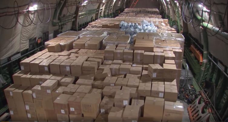 Русија прати помош за САД: Полета авионот со медицинска опрема и маски