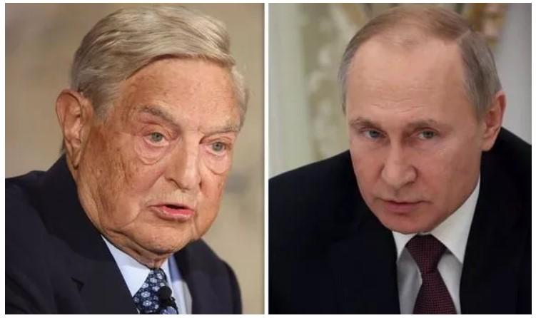 Путин издаде налог за aпсeњe на Сорос