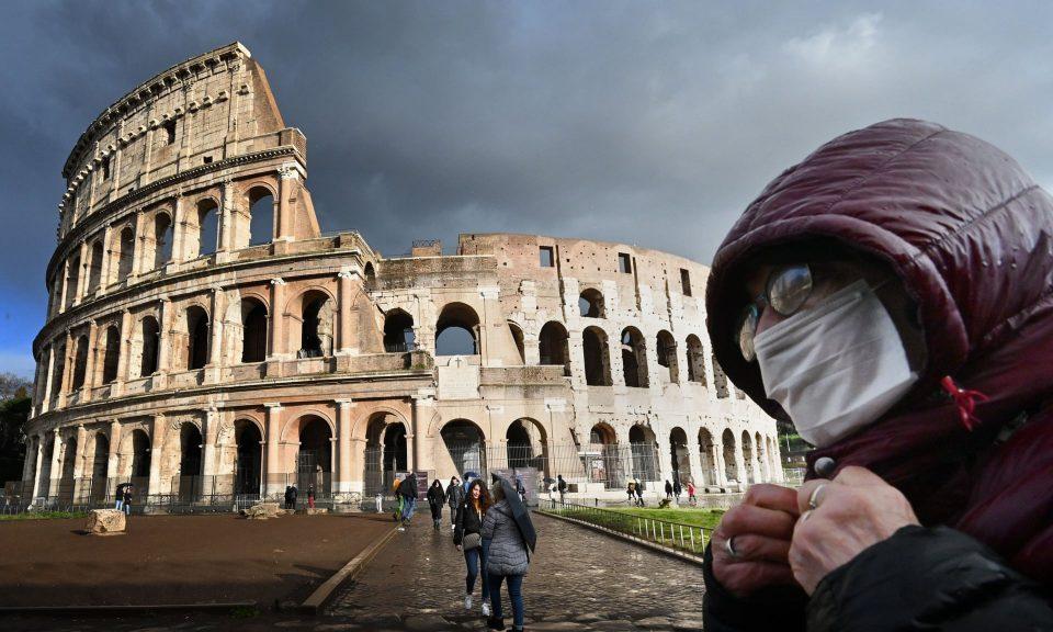 Од утре во Рим ќе има полициски час