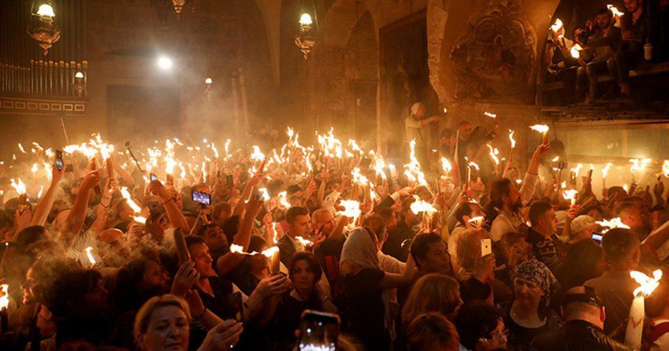 Светиот оган регуларно ќе пристигне во Грција за Велигден, но на скромна церемонија