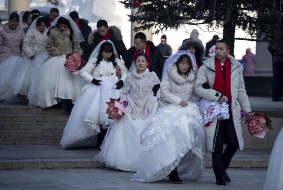 Вухан се фрла на свадби – за 300 отсто зголемени барањата за венчавање