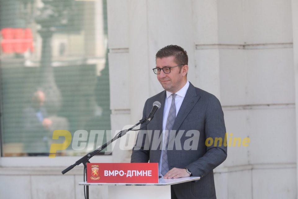 Мицкоски: Бидете спокојни! Сето она што ВМРО-ДПМНЕ го вети, во новата влада ќе го испорача!