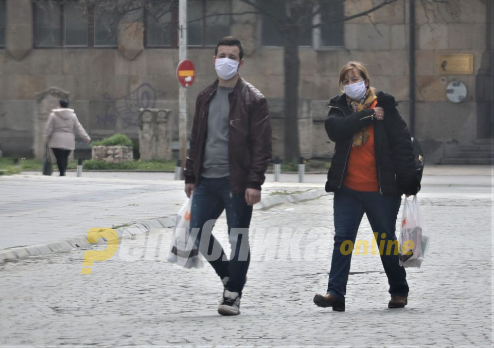 Собранието расправа за законското регулирање на носењето маски на отворено