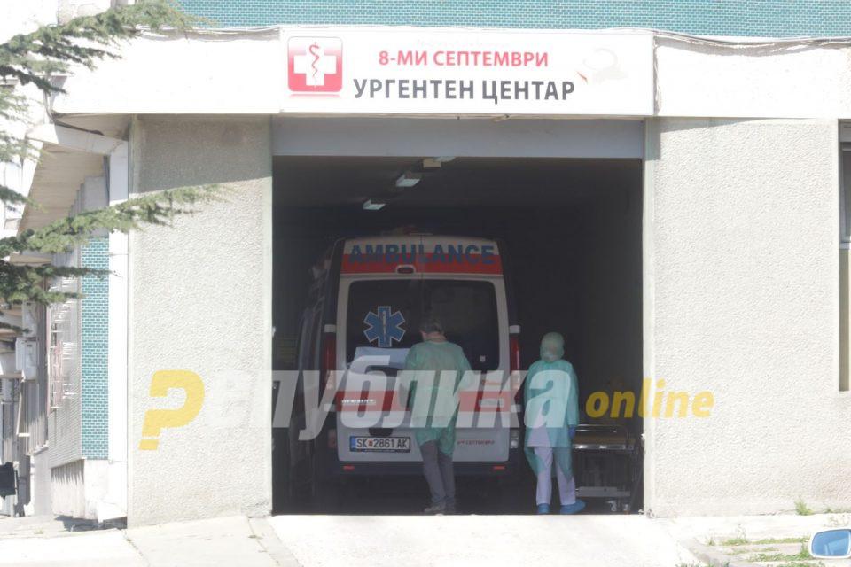 Седум пациенти хоспитализирани во Kовид центрите во Скопје поради компликации со корона вирусот