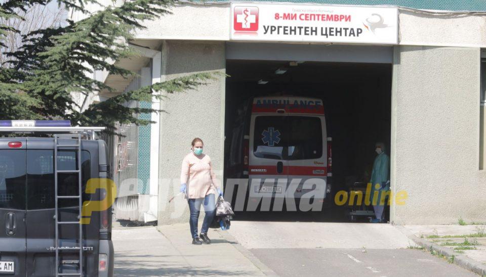 Поради компликации со вирусот 14 пациенти примени во ковид центрите во Скопје