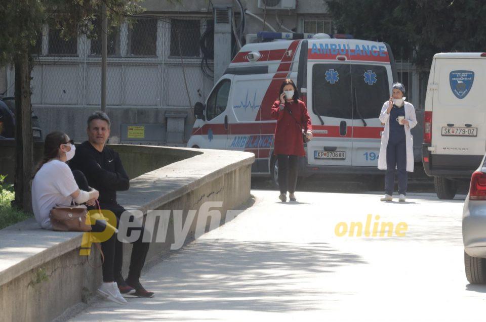 Пет пациенти починаа, 75 новозаразени со ковид-19