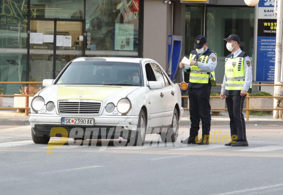 Санкционирани 371 возач во Скопје, од кои 120 за пречекорена брзина