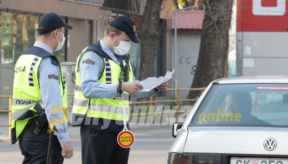 Полицискиот час го прекршиле 35 лица, 513 санкции за неносење маска