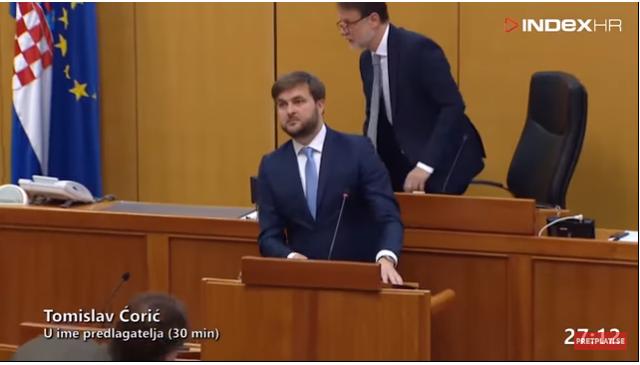 Се се тресело: Земјотрес во Загреб, прекината и седницата во Собранието