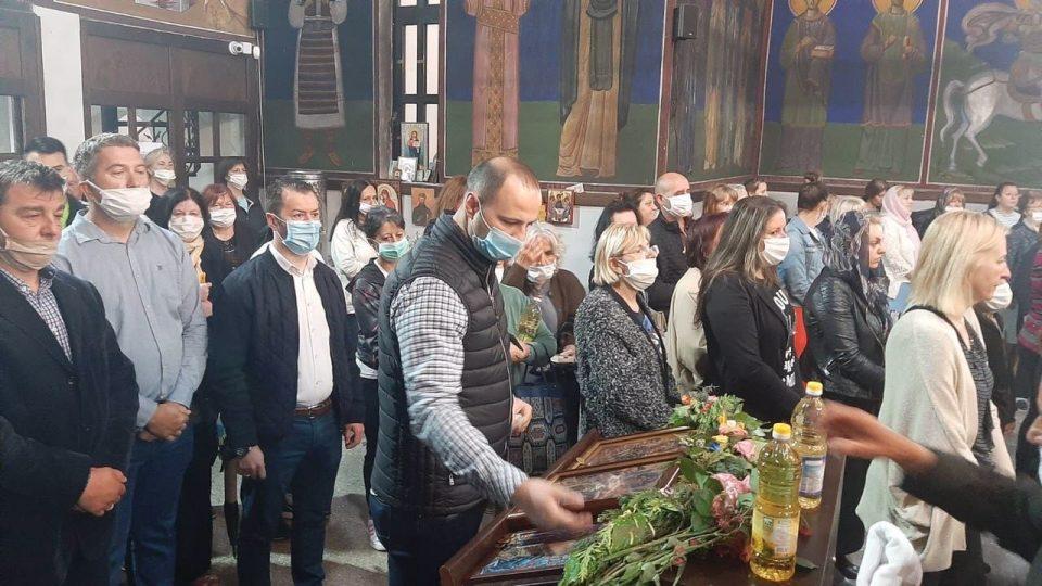 Мисајловски на утринска литургија во Св. Спас: Почитувајќи ги здравствените мерки да ја почитуваме и верата
