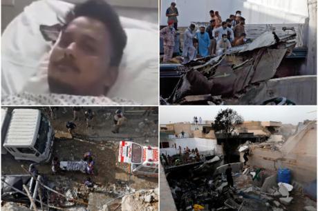 Тој го преживеал падот на пакистанскиот авион: Тргнав кон светлото, а потоа морав да скокнам