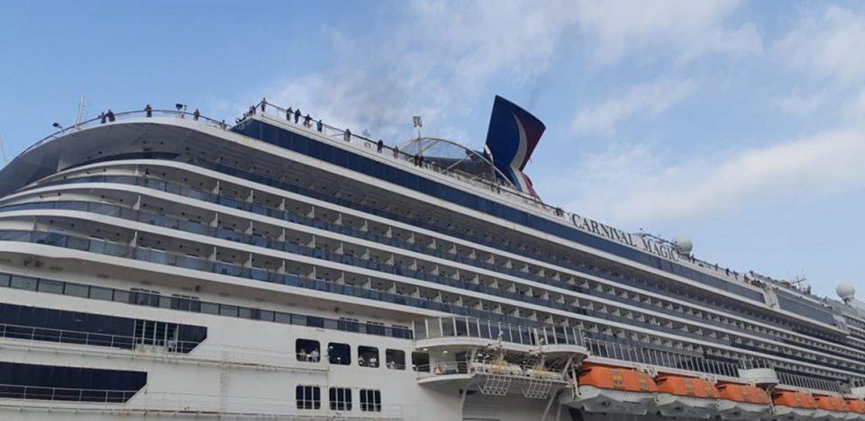 Крузерот во кој се и Македонци утрово вплови во Дубровник