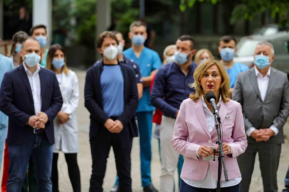 Д-р Маја Мојсова Мијовска, национална коодринаторка за трансплантација: Горда сум што тројца пациенти добија органи