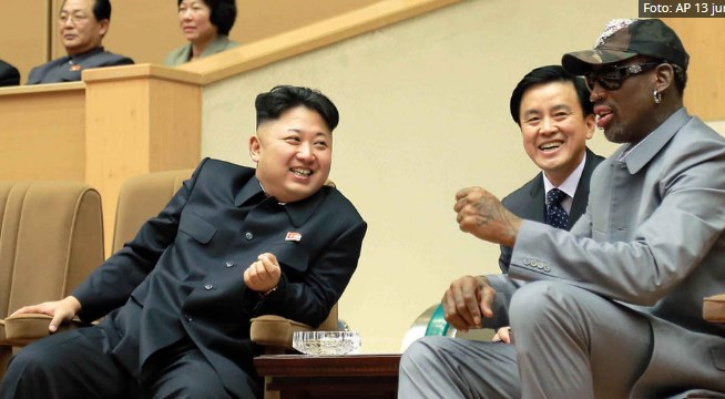 Вотка и многу жени: Денис Родман ја опиша вечерата со Ким Јонг Ун
