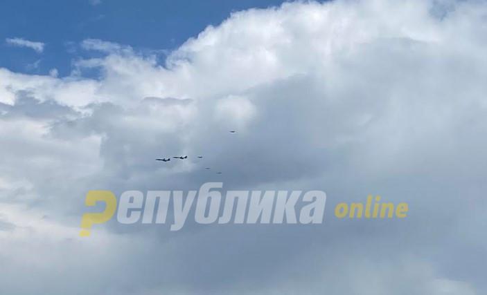 Американските авиони кои летаа над Македонија биле пресретнати од руски ловци над Црното море