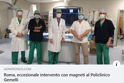 Др Иво Бошкоски дел од тимот лекари во Италија кои направија тешка операција во време на пандемија