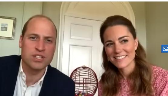 Кејт и принцот Вилијам организираа виртуелно бинго за лица во старечки дом
