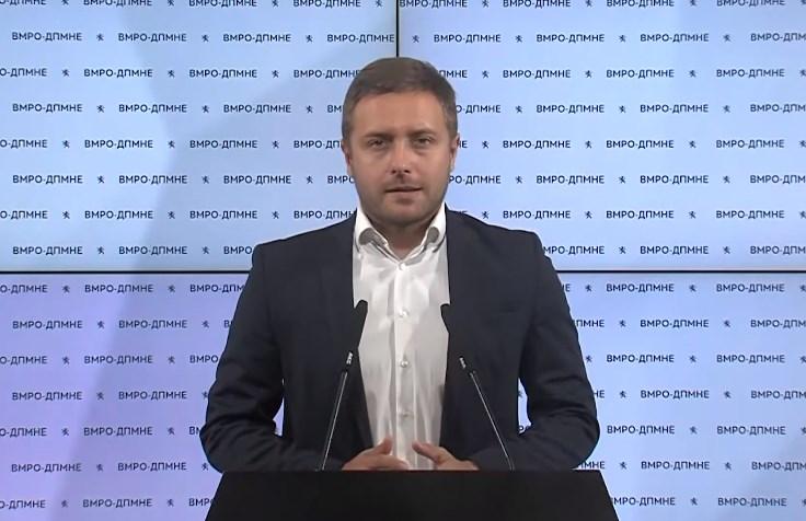 Арсовски:  СДСМ нема оправдување за над 700.000 евра потрошени во кампања