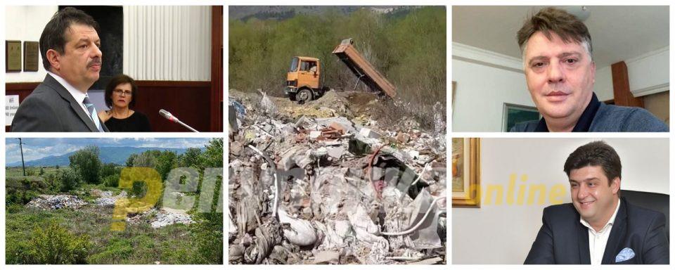 Додека Шилегов и Наумовски креваат раце, дивата депонија се прошири и во Лепенец