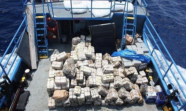 Которски клан не ја доби пратката кокаин: Запленети 5 тони дрога на бродот Арес