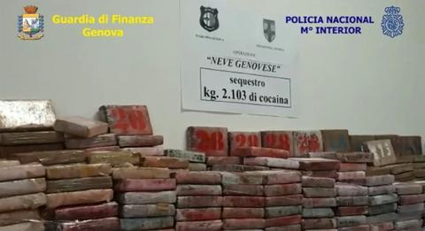Во операција на 26 земји запленети 50 тони кокаин