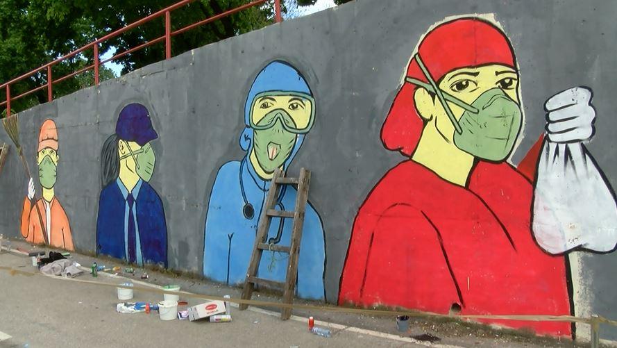 Скопје добива легални ѕидови за слободно користење на уличните уметници