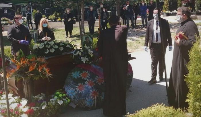 Драган Вучиќ испратен во вечниот дом, сопругата не успеа да се збогува со него