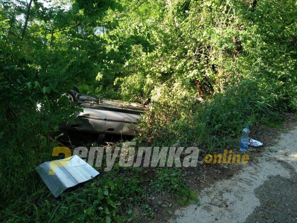 Тешка сообраќајна несреќа на патот кон манастирот Пантелејмон