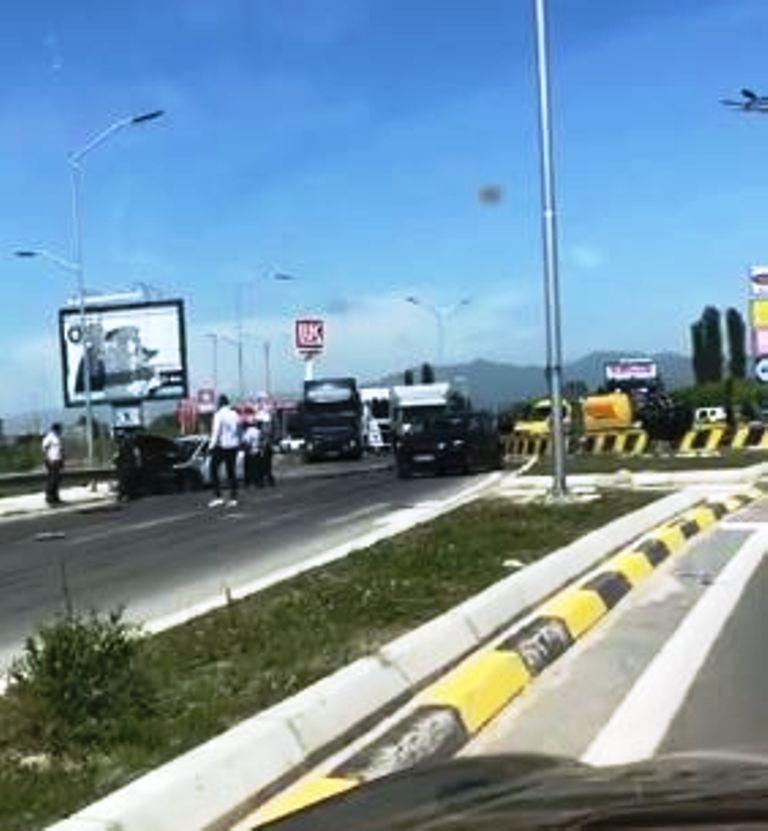 Двајца повредени во сообраќајка на влез во Струмица