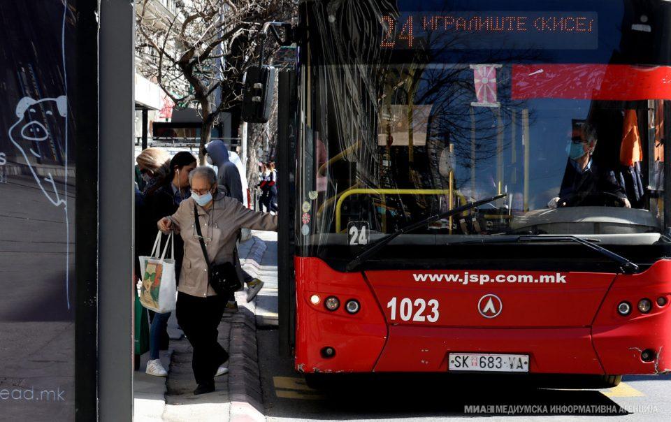 Јавниот превоз утре во Скопје по неделен возен ред