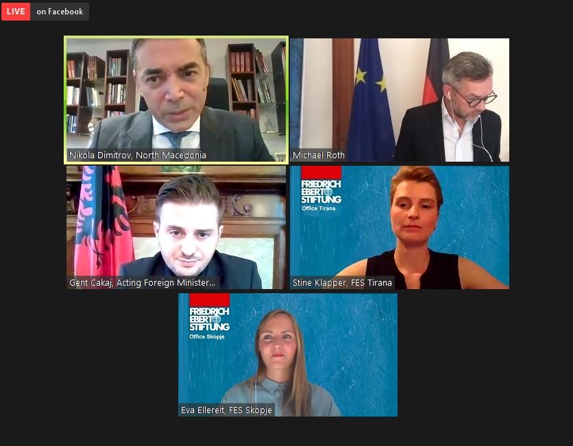 Рот: Западен Балкан ќе остане многу важно прашање за време на германското претседателство