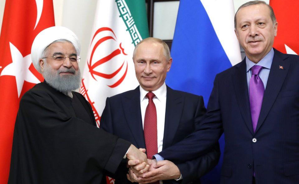Тројката од Астана го осуди одземањето на нафтените фондови и приходи на Сирија