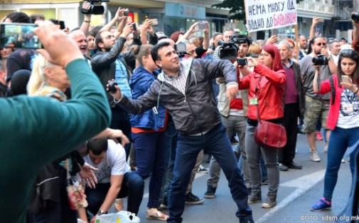 """""""Шарените"""" денеска слават годишнина: Организација создадена да го донесе Заев на власт"""
