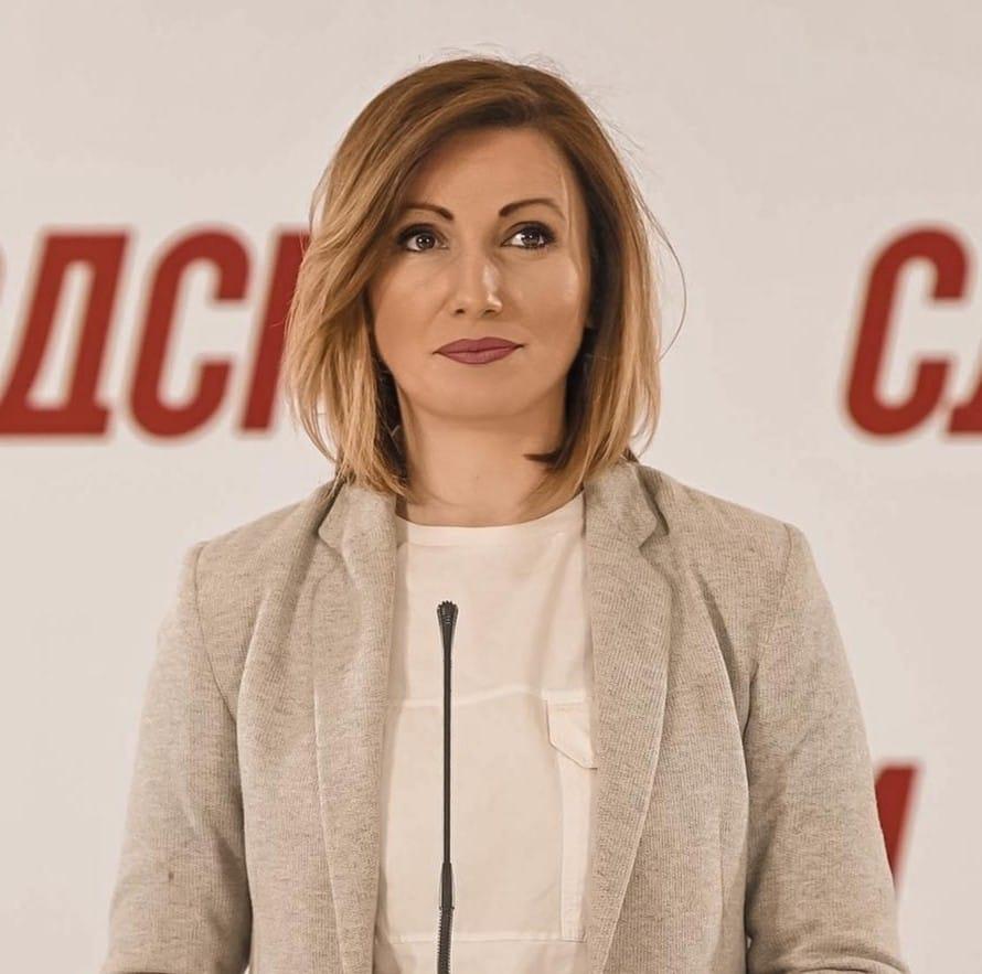 Портпаролката на СДСМ Кузеска позитивна на ковид-19