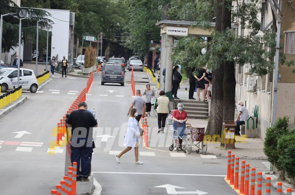 Почина скопјанка, 141 нов случај на ковид-19 денеска