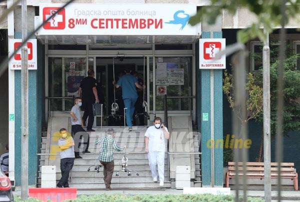 Седум пациенти починаа, 726 новозаболени од ковид-19